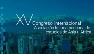 XV Congreso de la Asociación Latinoamericana de Estudios de Asia y África se realizó en la UAI