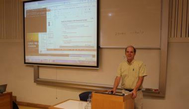 Expertos de Sandia National Laboratories y UC Davis participaron en workshop organizado por académicos FIC