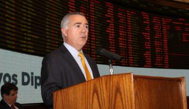 José Antonio Martínez, gerente general de la Bolsa de Comercio de Santiago