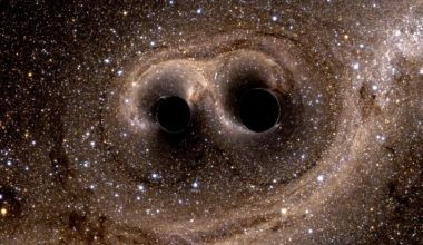 Historia de dos agujeros negros