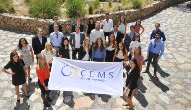 Escuela de Negocios da la bienvenida a nuevos estudiantes CEMS 2016