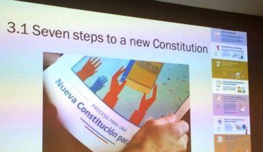 Cristóbal Bellolio expuso en Oxford sobre el proceso constituyente chileno