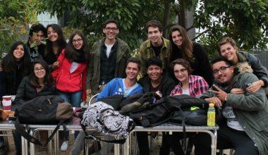 Alumnos de otras regiones disfrutaron de una cálida bienvenida al Campus Viña