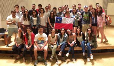 """Alumnos de intercambio aprenden """"chilenismos"""" durante su estadía en la UAI Viña"""