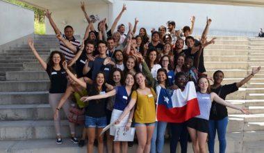 28 alumnos de intercambio llegaron al Campus Peñalolén