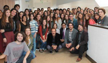 Escuela de Psicología recibe a los nuevos alumnos en Campus Viña del Mar