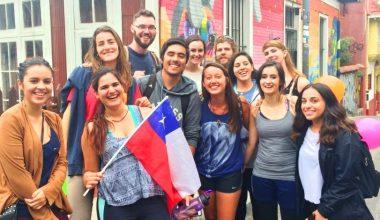 Alumnos de intercambio visitaron Valparaíso