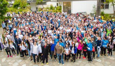 Bienvenida a nuevos alumnos en campus de Viña del Mar