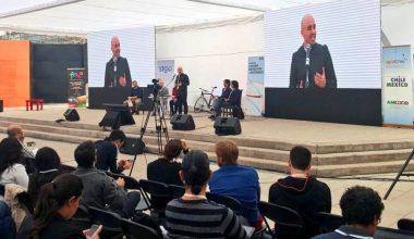 Felipe Vera del Design Lab estuvo en el Foro Mundial de la Bicicleta 2016