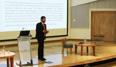 """En Campus Viña se realizó conferencia """"Tramitación Electrónica de Procedimientos Judiciales"""""""