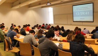 En ambos Campus se realizó el Primer Ensayo PSU 2016