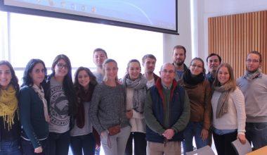 Alumnos de CEMS – Master in International Management visitaron el Campus Viña del Mar