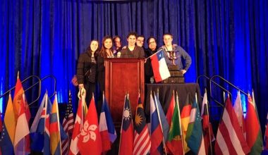 Equipo de Derecho UAI viajó a Washington como Exhibition Team en Concurso JESSUP