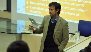 Carlos Osorio participó en Seminario de Innovación y Emprendimiento
