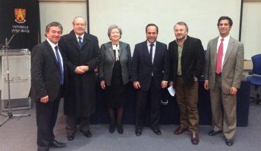Facultad de Derecho lanzó postgrados 2016 en panel con destacados invitados del mundo político