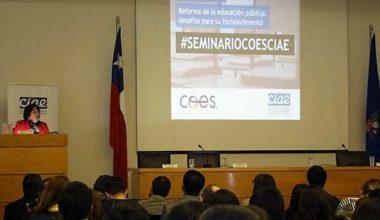 Director del CIT participó en seminario sobre el fortalecimiento de la educación pública
