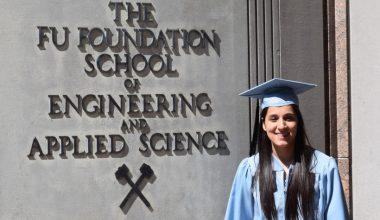 Martina Teuber, alumna de Ingeniería UAI, se gradúa con honores de Universidad de Columbia