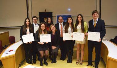 Embajada de EEUU becó a 6 alumnos UAI