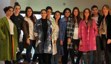 Taller sobre la industria de la moda culminó con desfile