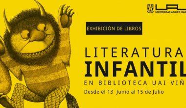 Exposición de Literatura Infantil en Biblioteca del Campus Viña del Mar