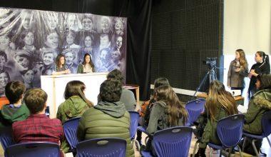 Escuela de Periodismo UAI Viña realizó taller para alumnos de colegios