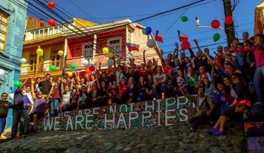 Alumnos de intercambio recorrieron la región de Valparaíso