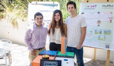 Alumnos de Ingeniería desarrollan tecnologías asistivas para niños de la Corporación Renacer