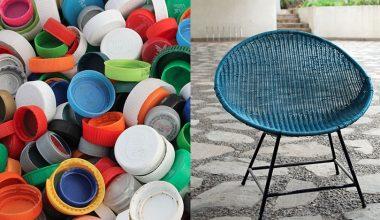 ¿Tapas de plástico? Ingenieros Comerciales UAI las transforman en coloridos muebles