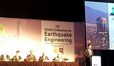 Profesor de la FIC, Gerardo Araya, expuso en conferencia mundial de Ingeniería Sísmica