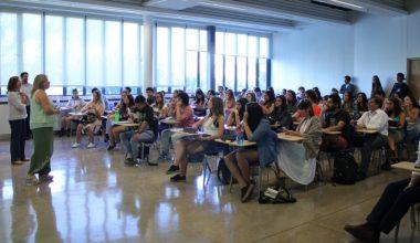 Psicología da la bienvenida a sus nuevos alumnos en Campus Viña