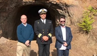 Fernando Wilson participó en la conmemoración de los 200 años de la Armada