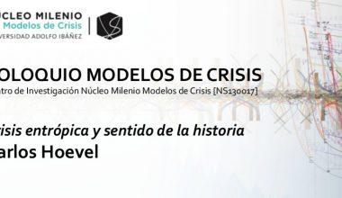 Experto en economía expuso sobre importancia de crisis históricas