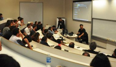 Decano del Design Lab dictó conferencia en Universidad Torcuato Di Tella