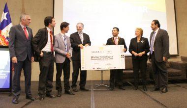 Inti-Tech, robot que limpia paneles solares es el ganador de Solar Academy CIET UAI