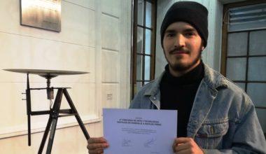 Alumno DesignLab gana concurso de Arte y Tecnología
