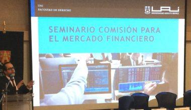 Facultad de Derecho analizó la implementación de la Comisión para el Mercado Financiero