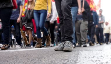 ¿Cómo y para qué usan las calles los chilenos?