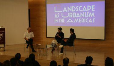 Profesor DesignLab expuso en Landscape as Urbanism in the Americas