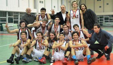 Selección de Básquetbol UAI tricampeón Torneo Adupri
