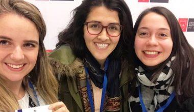 Ex alumna presentó ponencias de su tesis en Congreso Nacional de Psicología