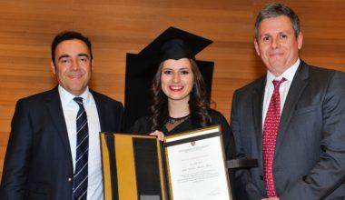 Aída Méndez, alumna de El Salvador, fue la mejor egresada del MBA IP 2017