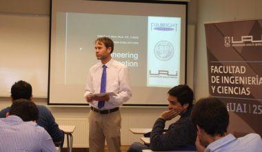 Académico de Ingeniería Civil de California Polytechnic State University dictó workshops en la UAI