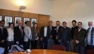Cooperación entre la FIC y representantes de instituciones extranjeras