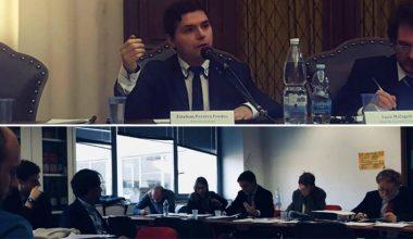 Esteban Pereira expuso en Génova y Milán sobre Derecho Privado