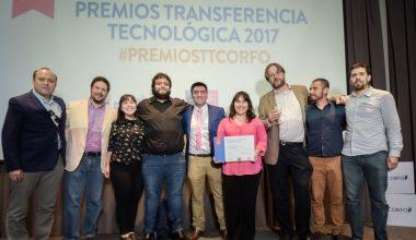 Oficina de Proyectos y Propiedad Intelectual UAI, premiada por Corfo y Red GT