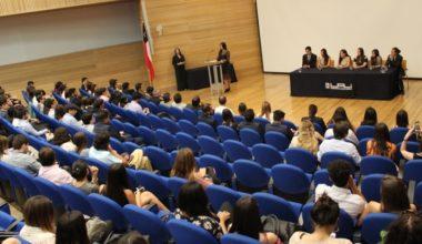 Más de 300 alumnos asistieron a la Ceremonia de Cambio de Mando