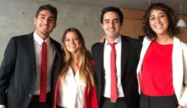 Alumnos de Comercial obtienen 2° lugar en concurso Ace The Case KPMG Chile
