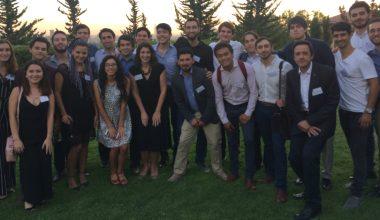 Alumnos UAI visitan la residencia de la Embajadora de Canadá