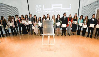 Ceremonia de reconocimiento a Méritos Académicos en Viña del Mar