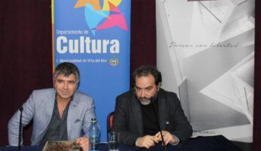 Adelmo Yori conversó con Rafael Gumucio en el marco del Día del Libro